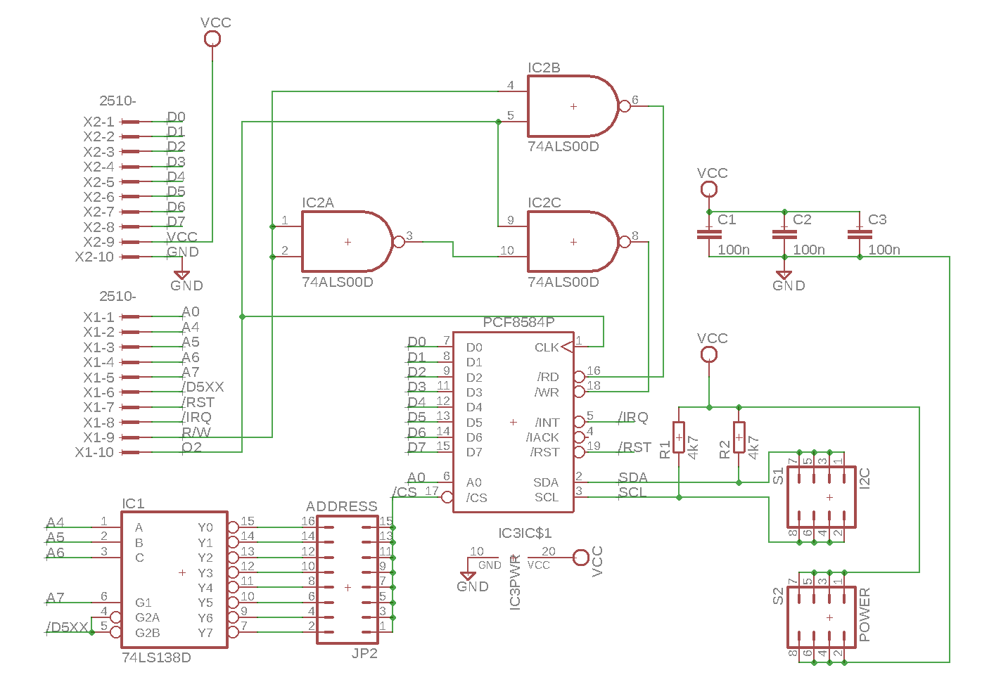 A2I2C v1.2 schematic